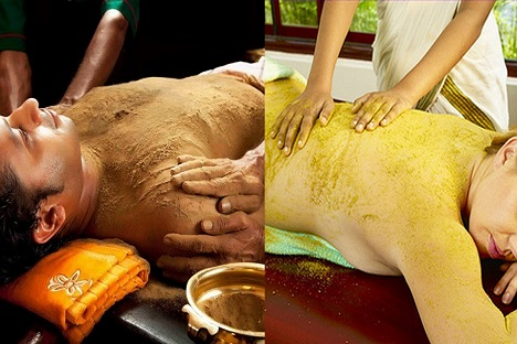Powder Massage